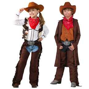 Cowboy/Cowgirl outfit for the western theme party (recommended, but not required)